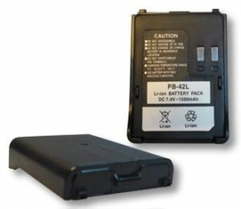 Akku f�r Kenwood TH-F7E, 7,4 V/1.550 mAh, Li-Ion, PB-42L -