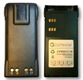 Akku f�r Motorola GP3xx, 7,2 V/1.800 mAh, Li-Ion, star*point -